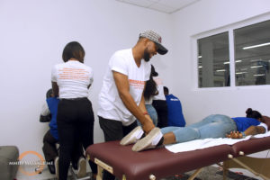 CERTIFICATION TRAINING MMHS SCHOOL TRAIN MASSAGE THERAPIST LEKKI LAGOS island